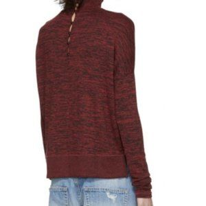 Rag and bone turtle neck top/BOWERY BUTTON BACK